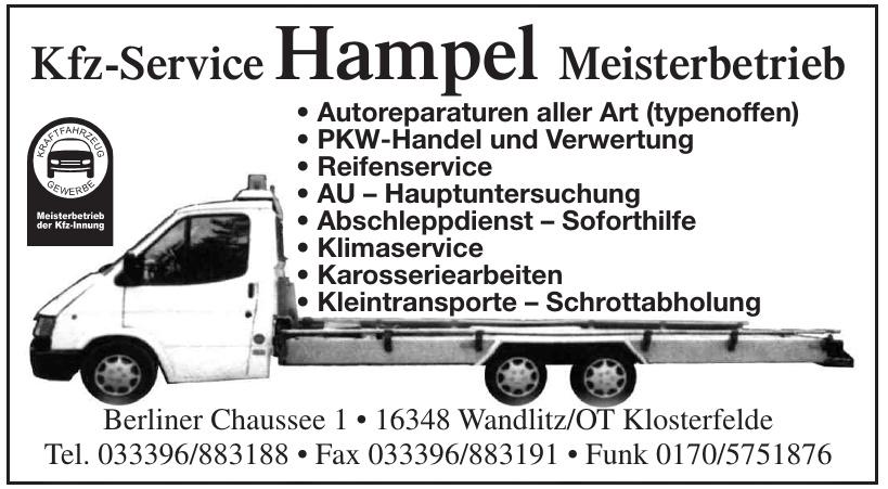 Kfz-Service Hampel Meisterbetrieb