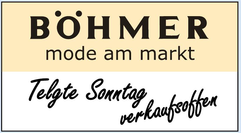 Böhmer Mode am Markt