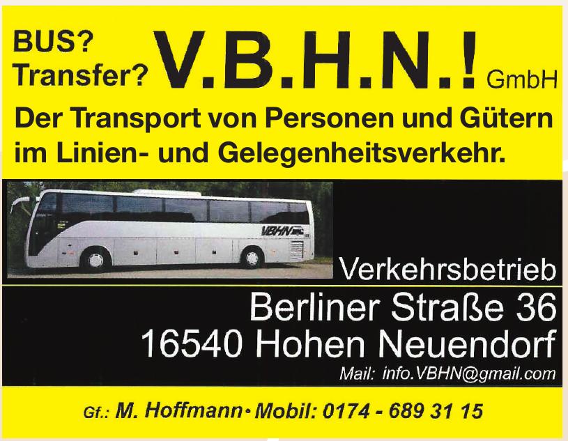 V.B.H.N.! GmbH