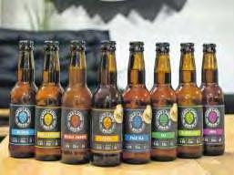 Farbe für die Vielfalt: Bei der Auswahl findet jeder sein Bierchen.