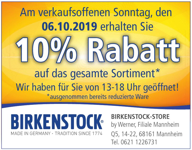Birkenstock-Store