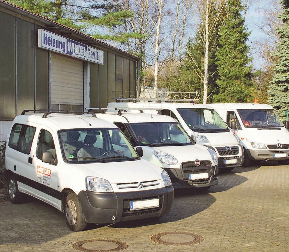 Der Familienbetrieb Windel ist für Haus- und Versorgungstechnik gefragt. Foto: privat