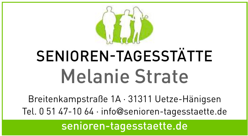 Senioren-Tagesstätte Melanie Strate