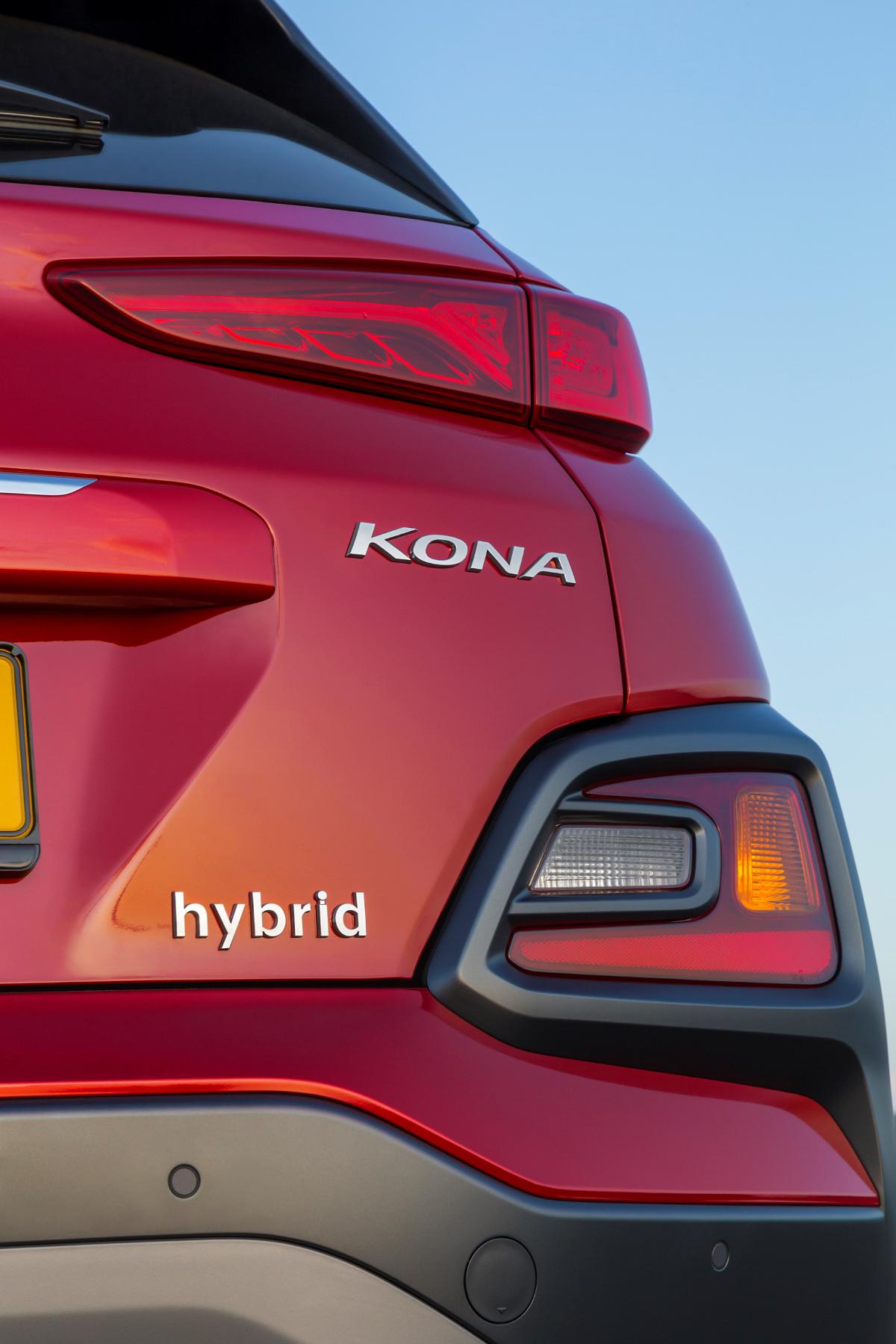 Die Hybridversion des Kona bringt es auf eine Systemleistung von 141 PS.