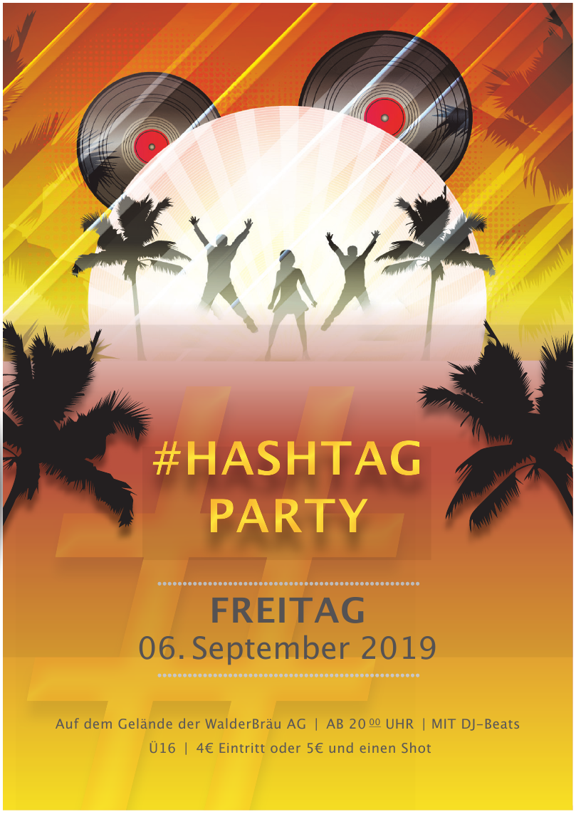 Hashtag Party 2019