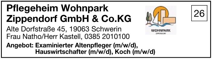 Pflegeheim Wohnpark Zippendorf GmbH & Co.KG