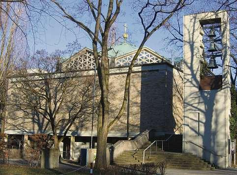 Lernen und Wohnen. Die Nazarethkirche im Osten von München wird umgebaut.