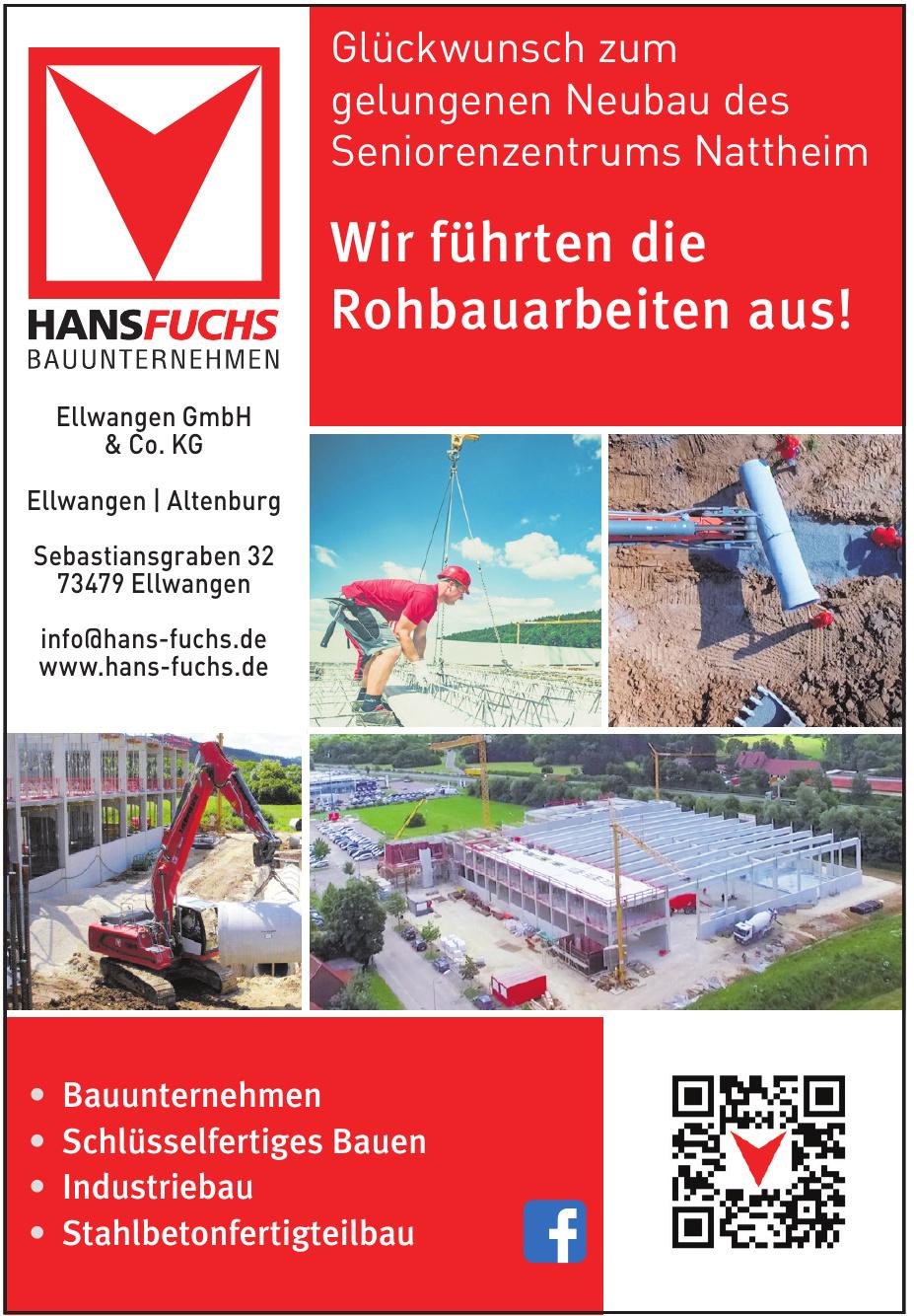 Hans Fuchs Bauunternehmen Ellwangen GmbH & Co. KG