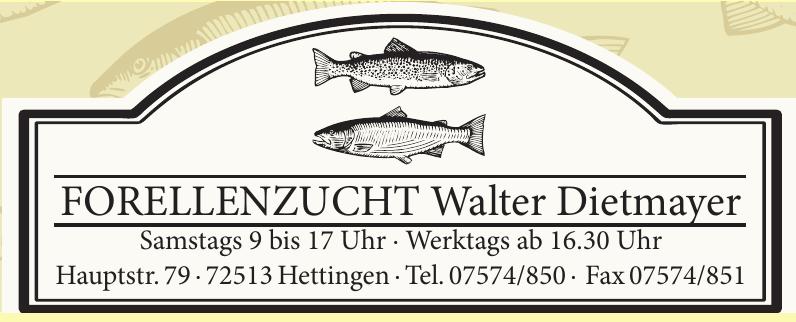 Forellenzucht Walter Dietmayer