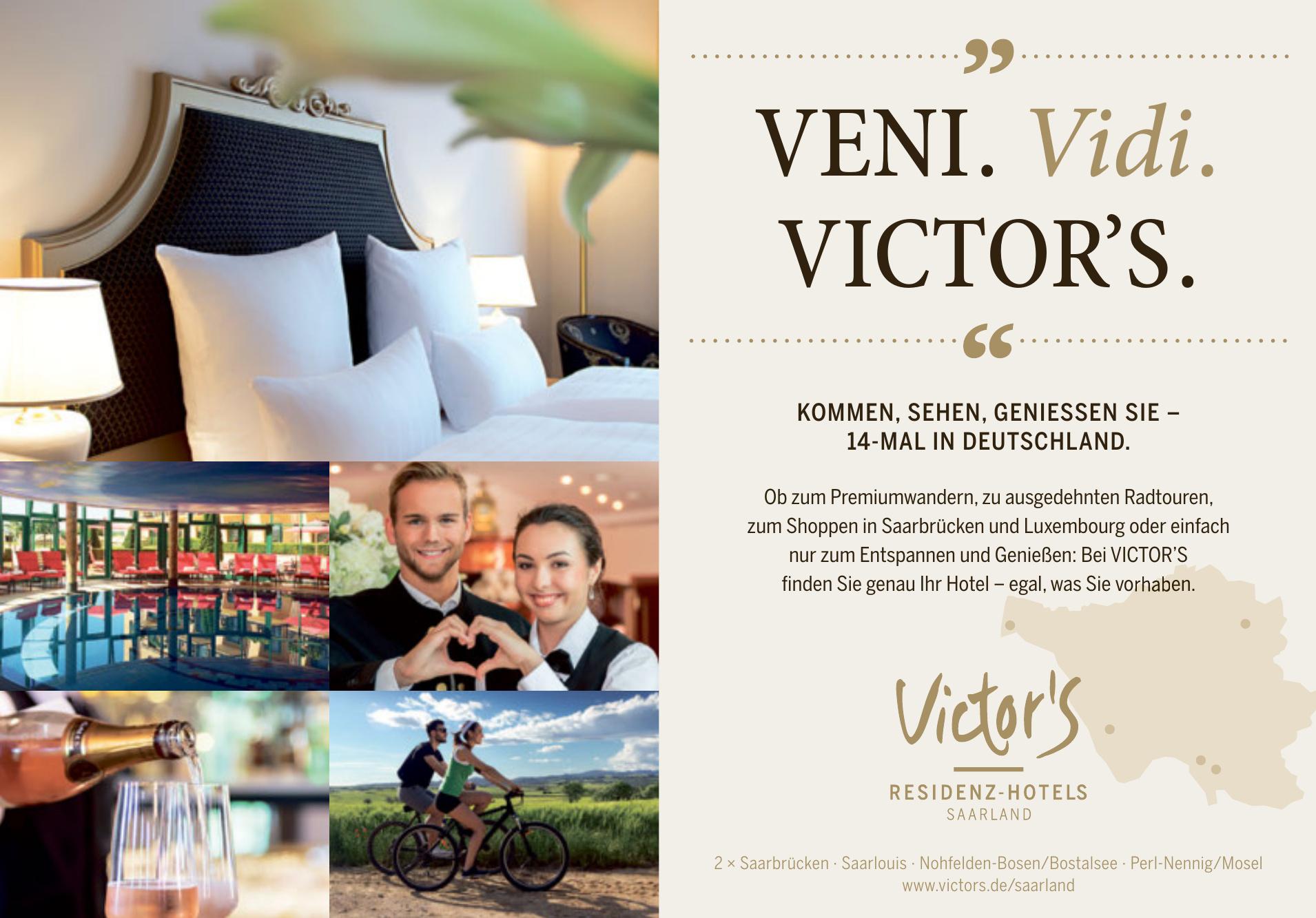 Victor´s Residenz Hotels Saarland