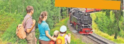 Nostalgie pur: Ein Dampfzug kurz vor Drei Annen Hohne. Foto: Olaf Haensch