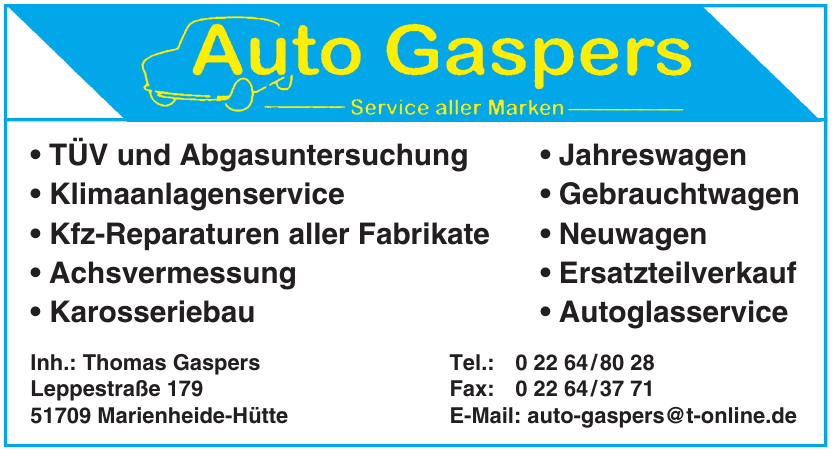 Auto Gaspers