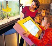 Interaktiv: Ausstellung im Biosphärenhaus. Foto: frei