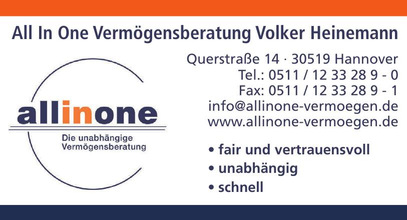 All In One Vermögensberatung Volker Heinemann