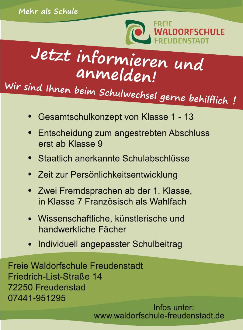 Freie Waldorfschule Freudenstadt