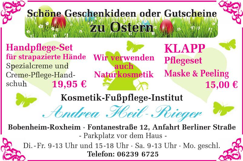 Kosmetik-Fußpflege-Institut Andrea Heil-Rieger