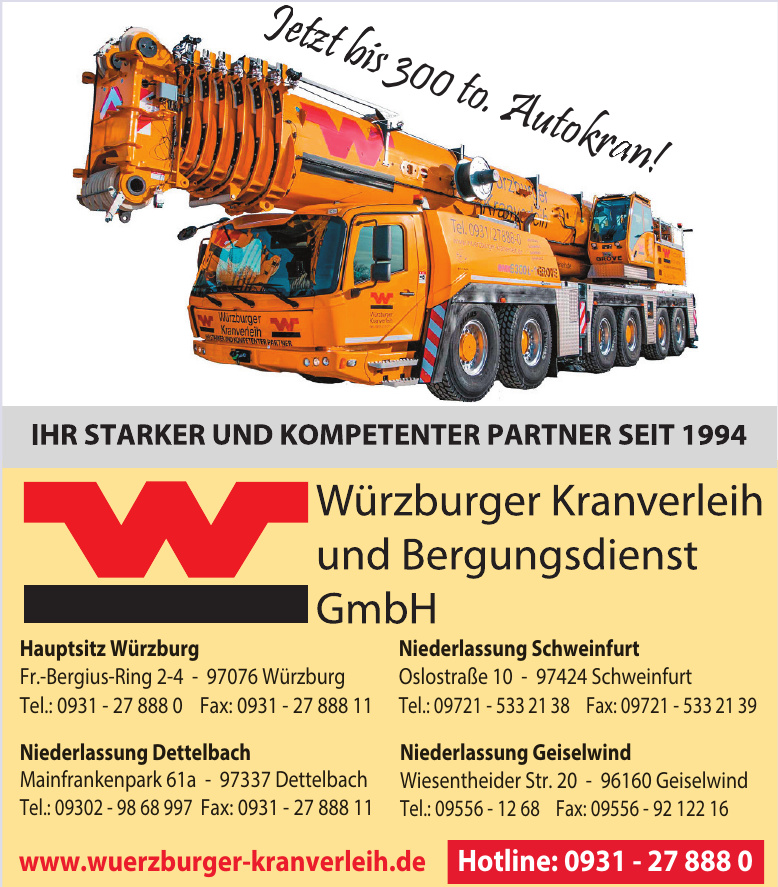 Würzburger Kranverleih und Bergungsdienst GmbH