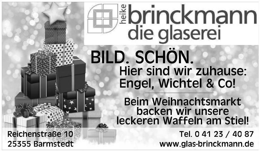 Heike Brinckmann - Die Glaserei