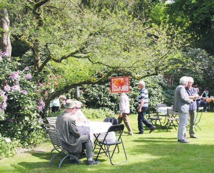 Der Lüttge-Garten öffnet regelmäßig seine Pforte
