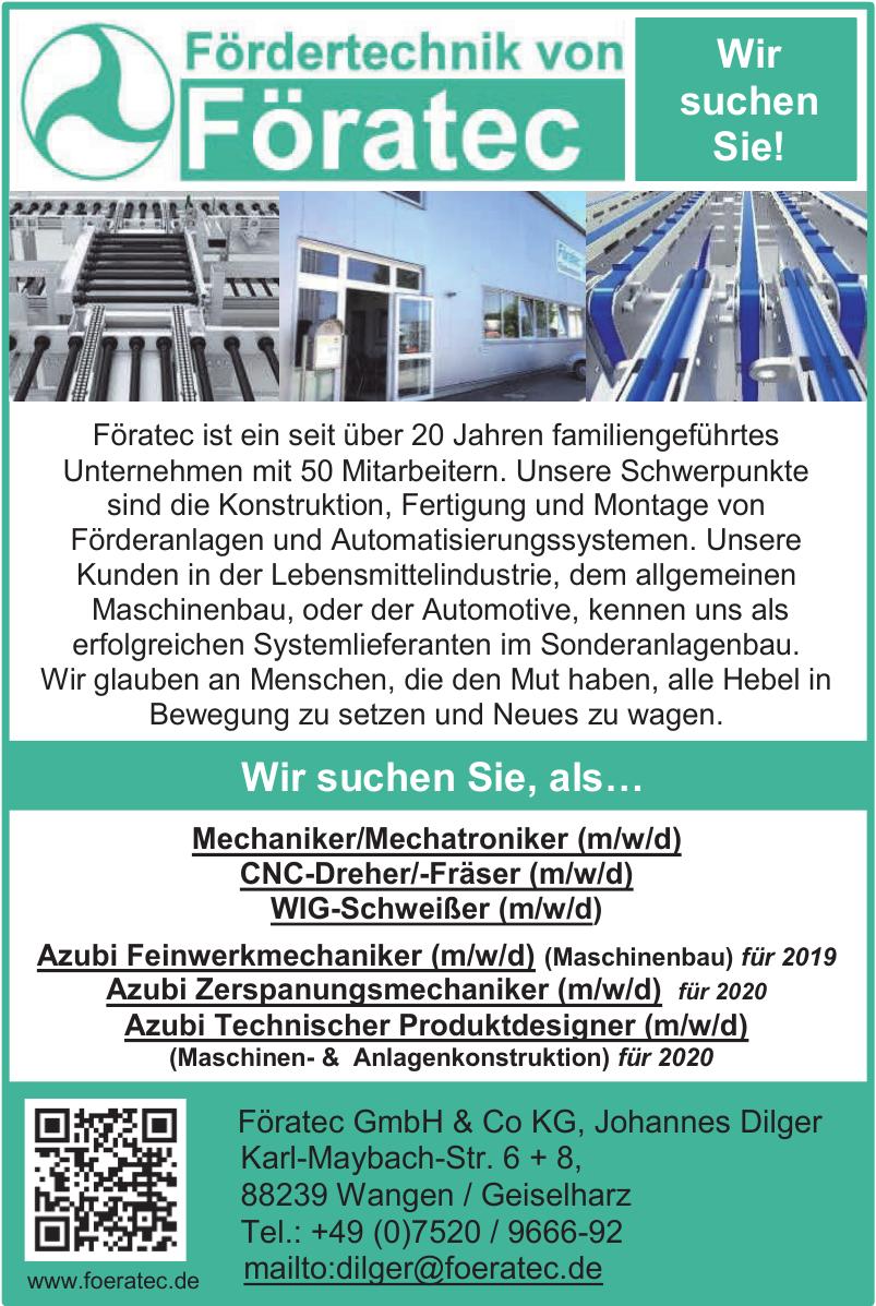 Föratec GmbH & Co KG, Johannes Dilger