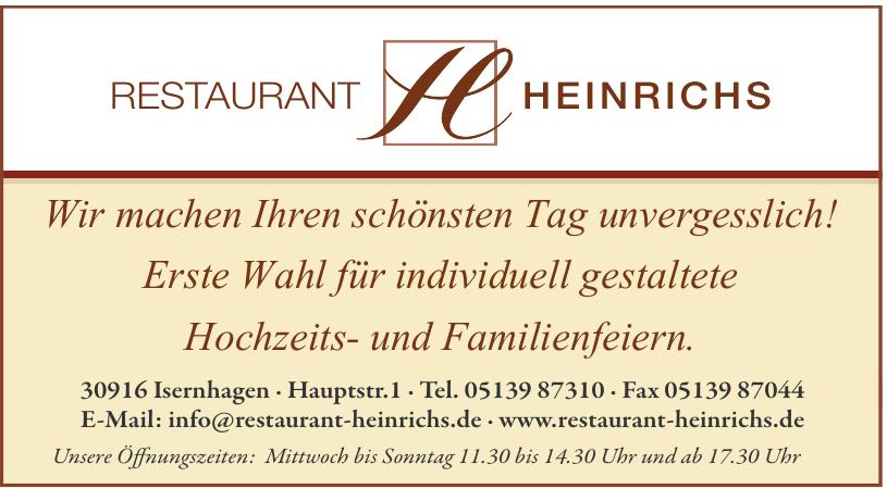Restaurant Heinrichs