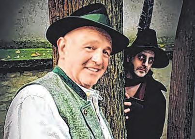 """Fritz Egger als """"Brandner"""" und Reinhold Moritz als """"Boandlkramer"""" Foto: Walter Huemer"""