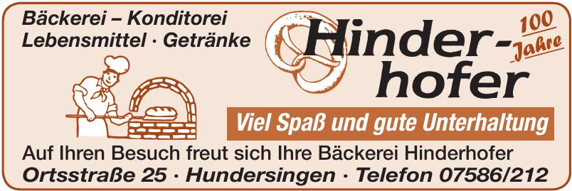 Bäckerei Hinderhofer