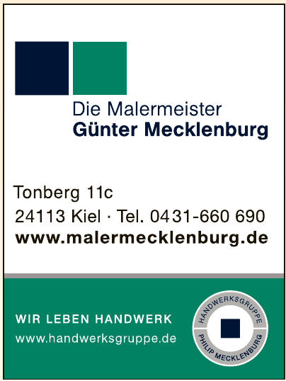 Die Malermeister Günter Mecklenburg