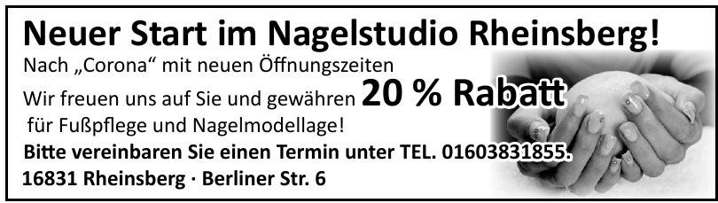Nagelstudio Rheinsberg