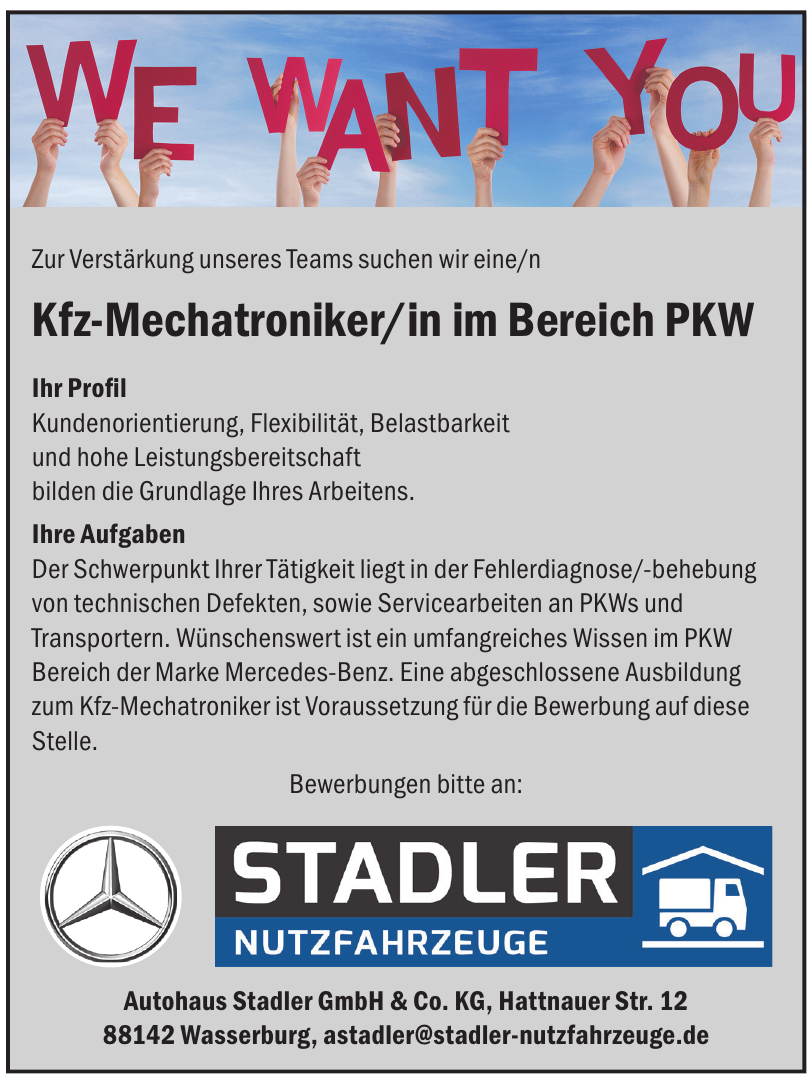 Autohaus Stadler GmbH & Co. KG