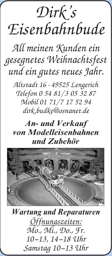 Dirk's Eisenbahnbude