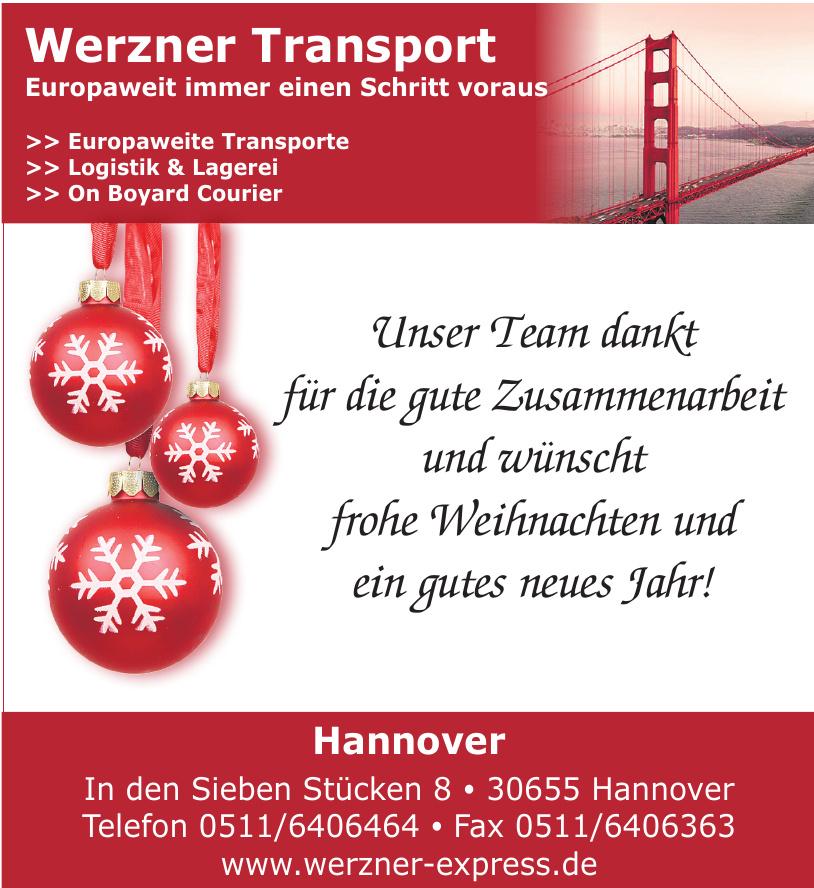 Werzner Transport