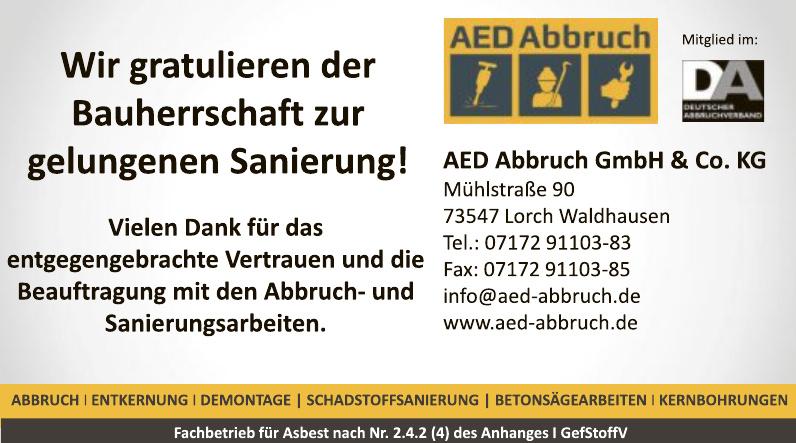 AED Abbruch GmbH & Co. KG