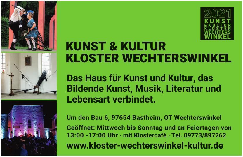 Kunst & Kultur Kloster Wechterswinkel