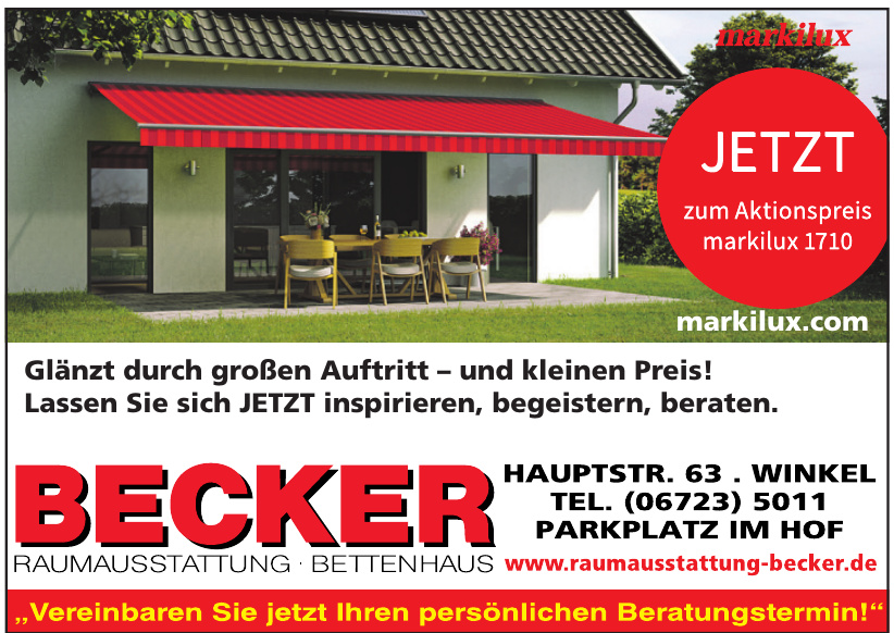 Becker Raumausstattung - Bettenhaus