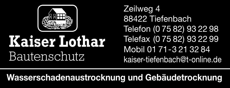 Kaiser Lothar Bautenschutz