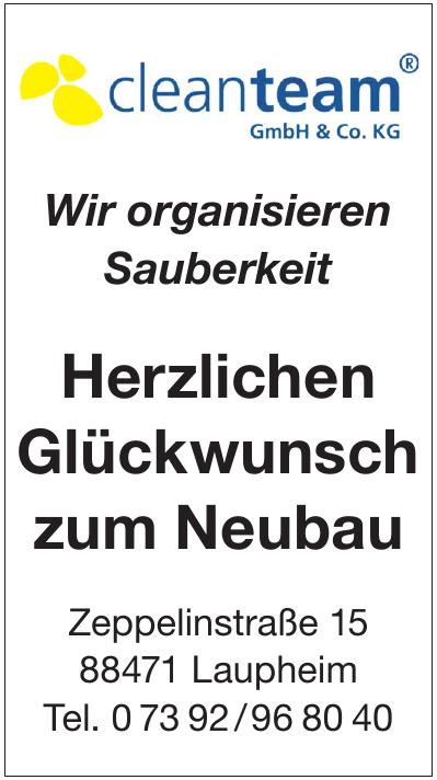 Cleanteam GmbH & Co. KG Reinigung