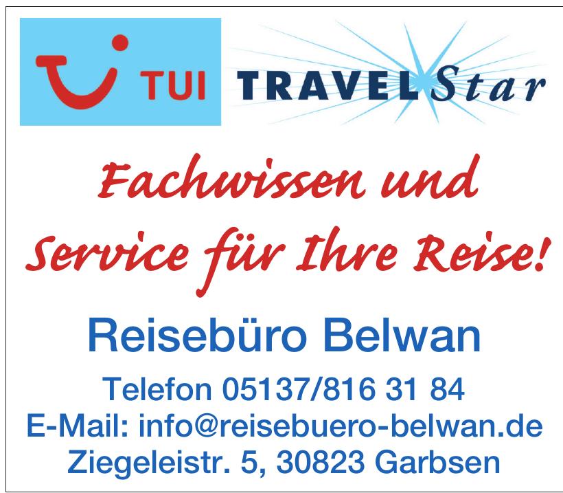 Tui TravelStar - Reisebüro Belwan