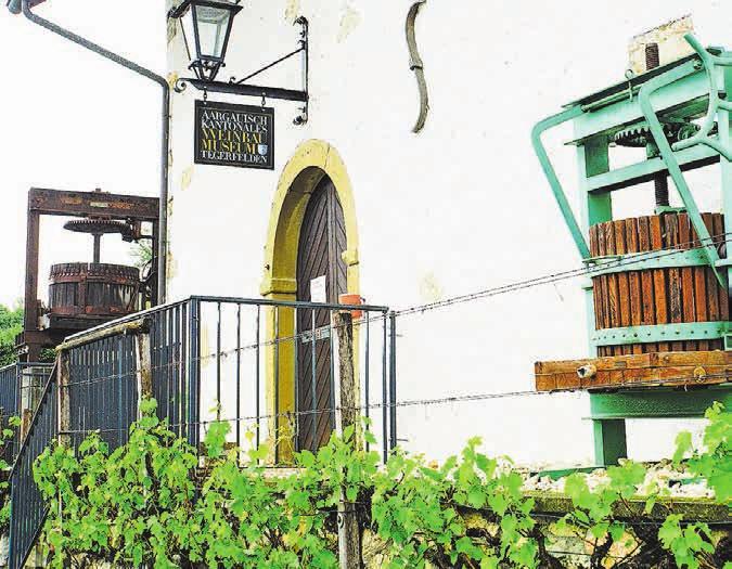 Der Weinkultur von einst und heute widmet sich das kantonale Weinbaumuseum.