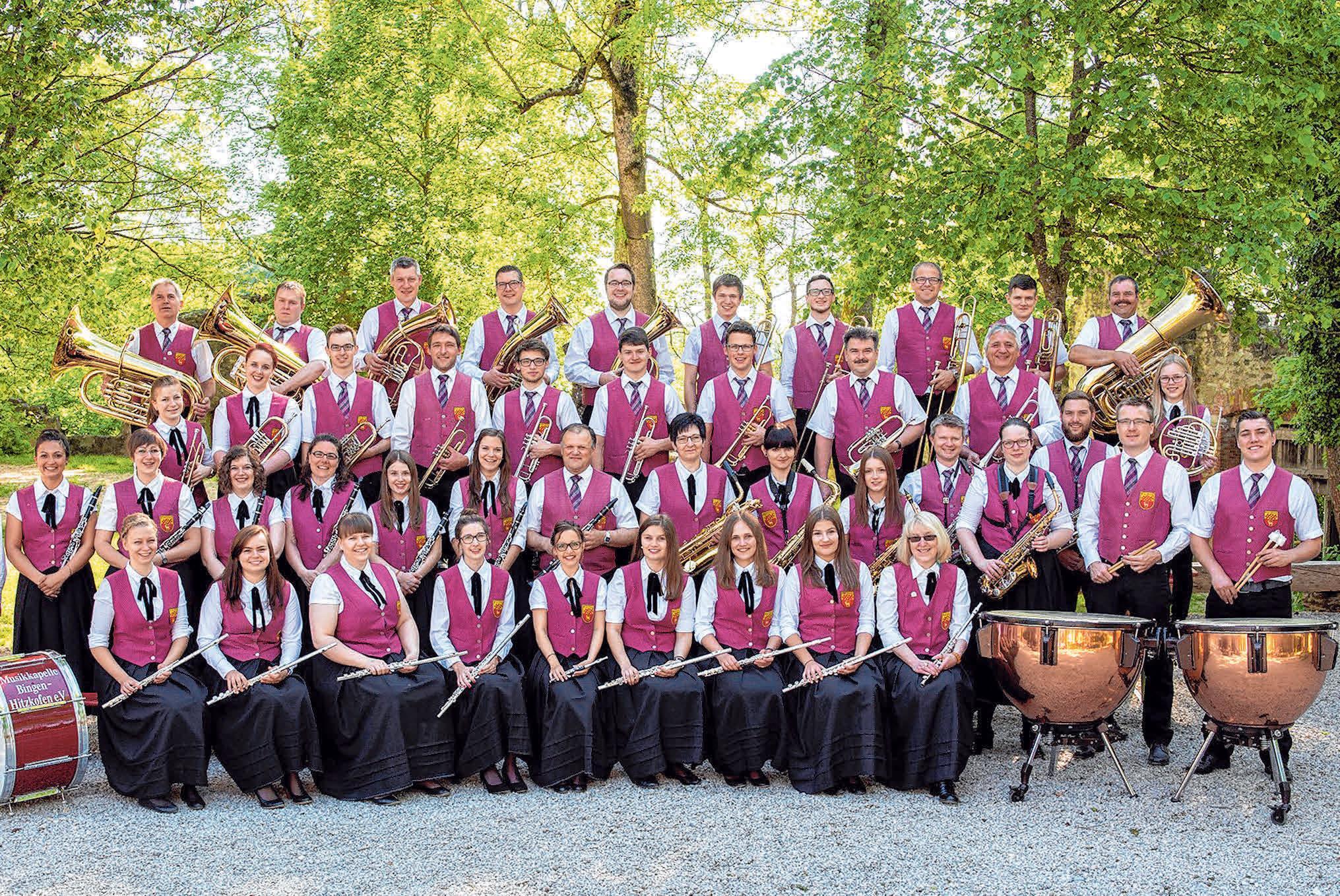 Die Musikkapelle Bingen-Hitzkofen e.V. lädt bereits zum 34. Mal zu ihrem beliebten Weinfest in die Binger Sandbühl-Halle ein. FOTO: LÖBE