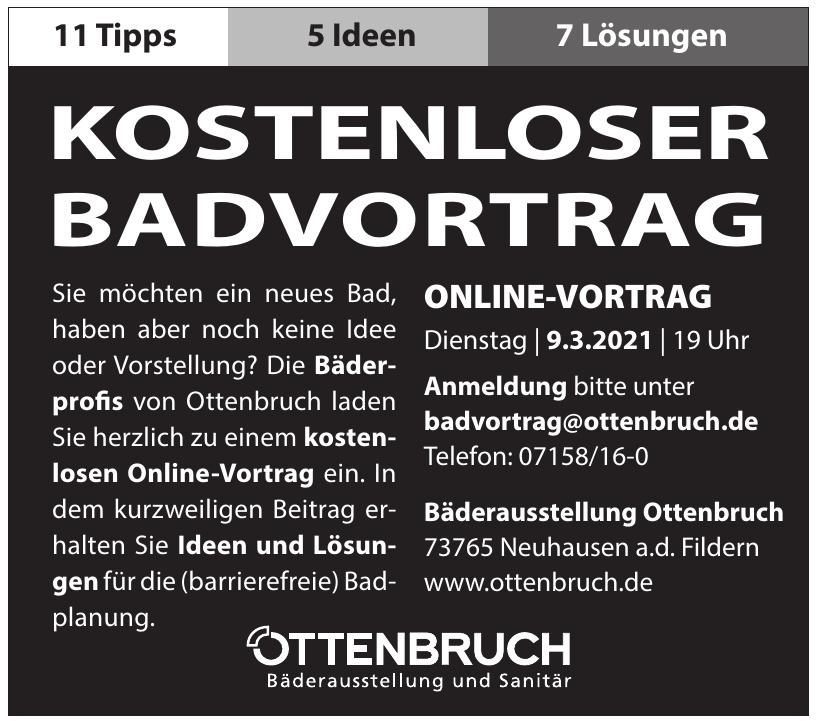 Bäderausstellung Ottenbruch