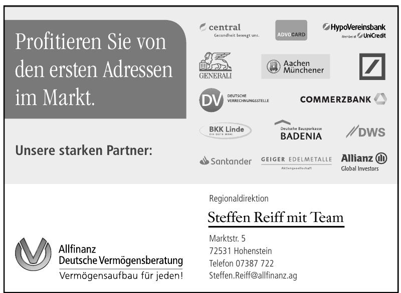 Allfinanz Deutsche Vermögensberatung