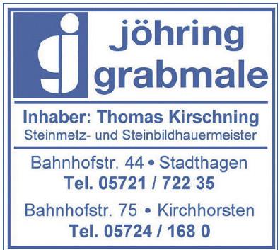 Jöhring Grabmale