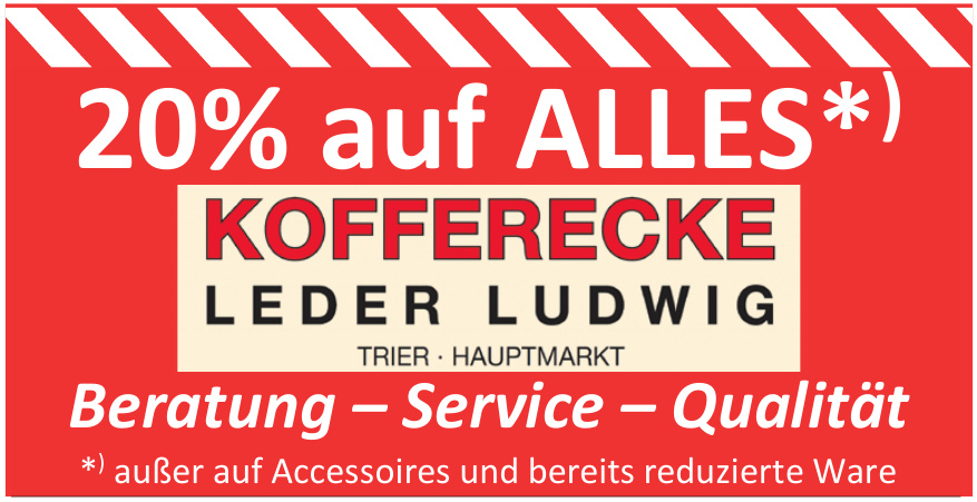 Kofferecke Leder Ludwig