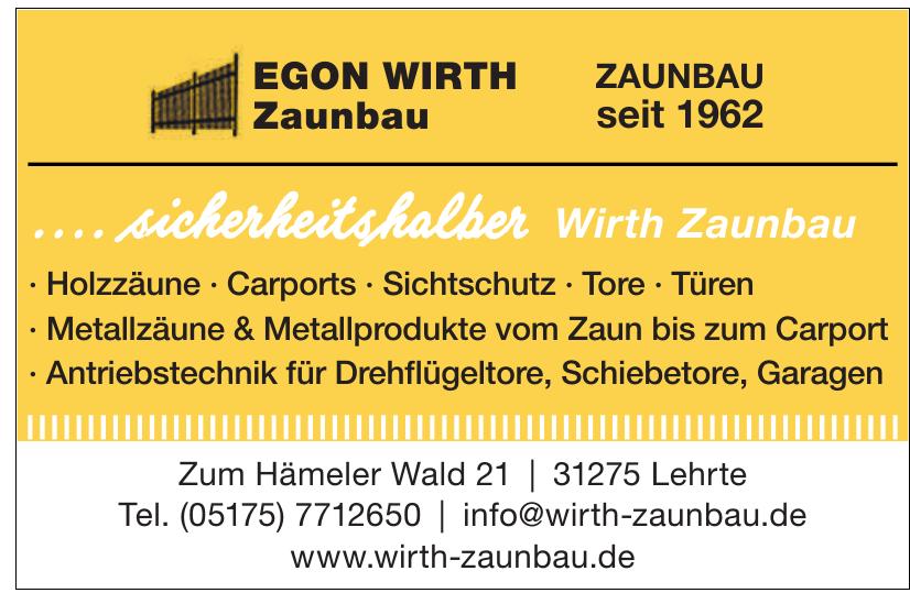 Egon Wirth Zaunbau