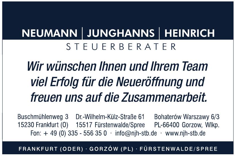 Neumann Junghanns Heinrich Steuerberater