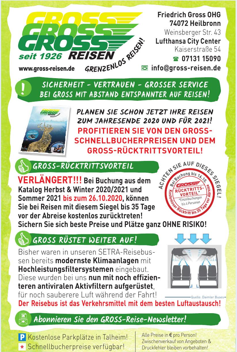 Gross Reisen - Friedrich Gross OHG