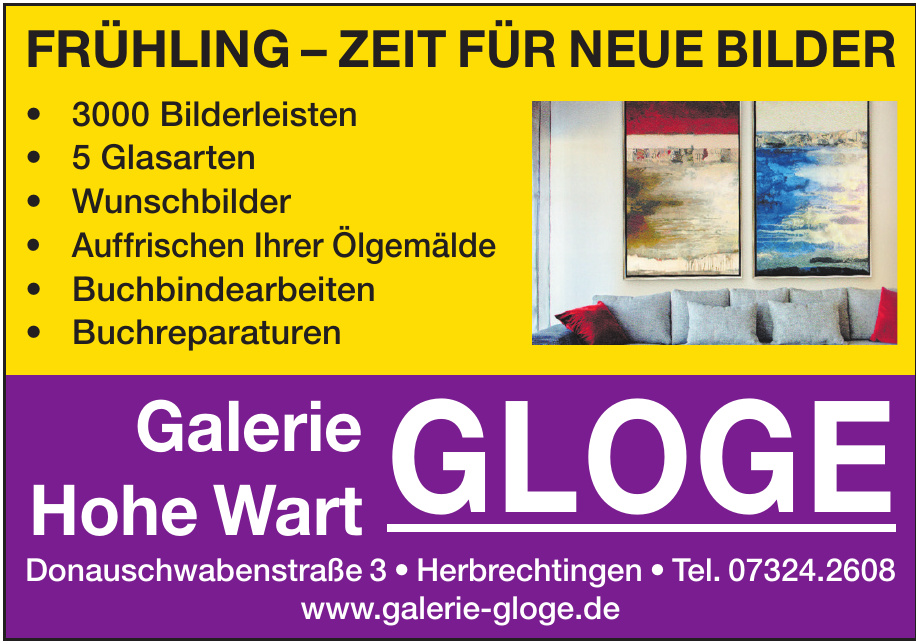 Galerie Hohe Wart Gloge
