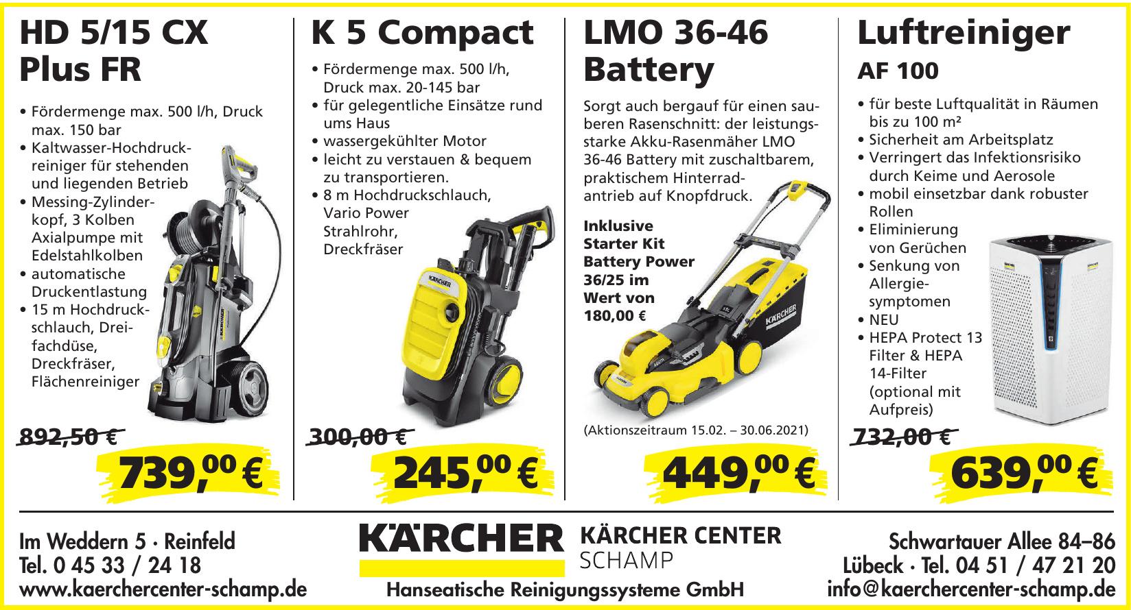 Kärcher Center Schamp - Hanseatische Reinigungssysteme GmbH