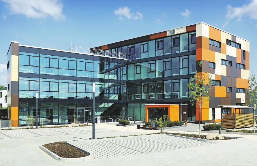 Im Gründerzentrum der WLH finden junge und zukunftsorientierte Unternehmen Austausch-, Informations- und Fördermöglichkeiten.Fotos: Anja Zuchold/WLH